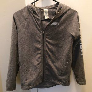 Roots Grey Sweater with Thumbholes